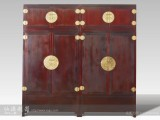 【红木家具】 大叶紫檀 素面顶箱柜 顶箱柜 柜架