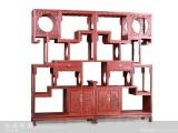 【红木家具】红酸枝 梅兰秋菊多宝柜 柜架