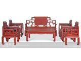 【红木家具】红酸枝 台协沙发十件套