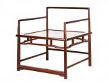 【红木家具】红酸枝 禅椅