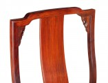 【红木家具】红酸枝 梅花餐椅