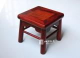 老挝红酸枝独板 儿童富贵凳